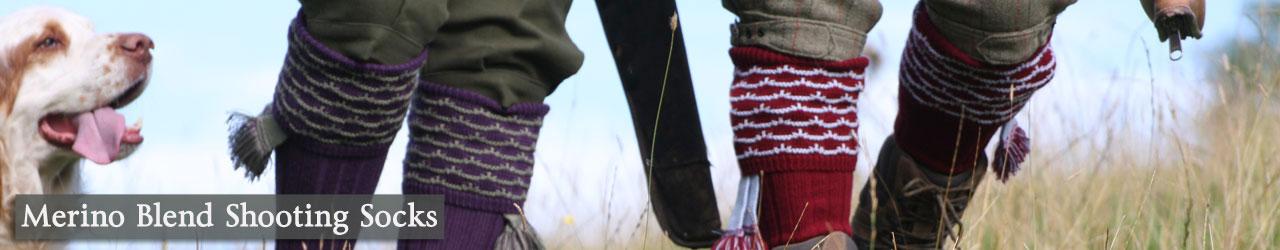 Merino/Acrylic Blend Socks