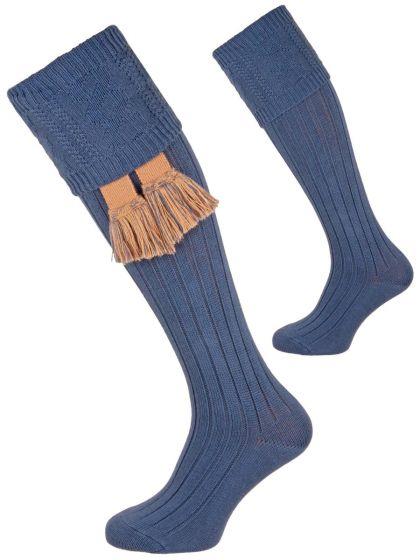 The Berrington Cotton Cable Top Shooting Sock