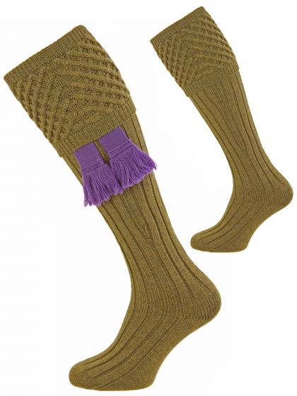 Sage Green Chelsea Shooting Sock from Pennine Socks