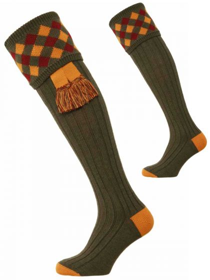 The Chequers Shooting Sock
