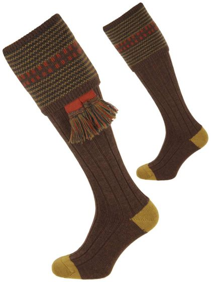 The Cumbrian Merino Wool Shooting Sock