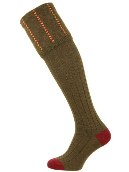 The Devonshire Wool Shooting Sock