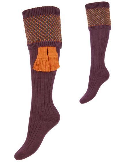 The Lady Tayside Shooting Sock