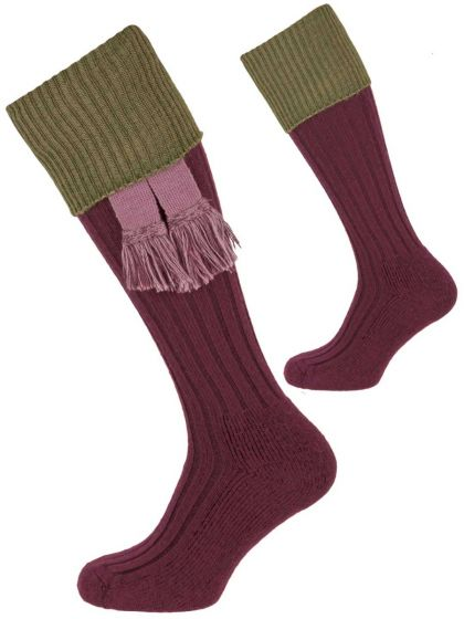 The Lintridge Cushion Foot Merino Shooting Sock