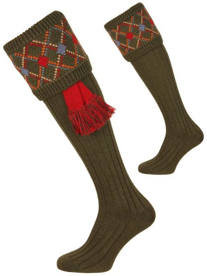 The Melrose Shooting Sock
