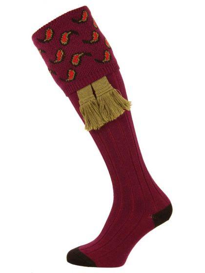 The Norfolk Merino Wool Shooting Sock