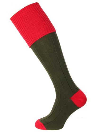 The Pembroke Cotton Shooting Sock