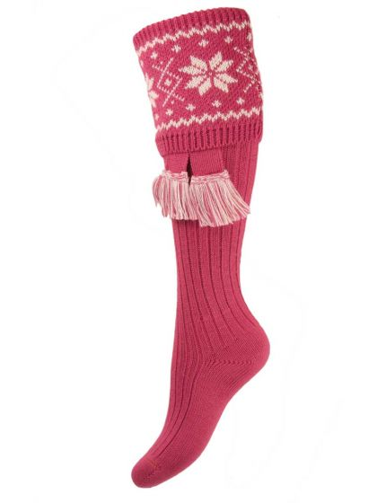 The Lady Nordic Shooting Sock with Garter