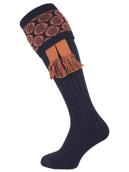 The Brierley Shooting Sock with Garter