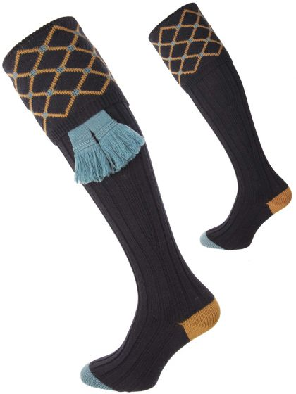 Navy, the Regent Shooting Sock