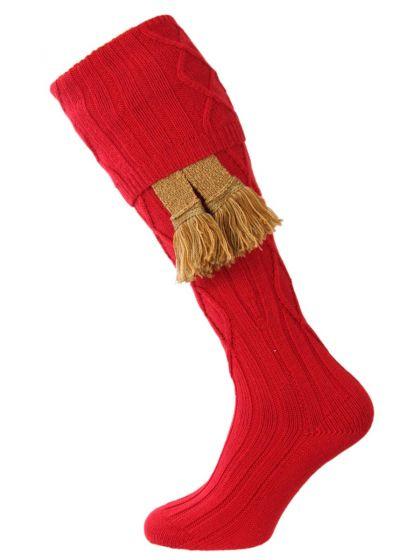 The Keswick Shooting Sock - Chianti