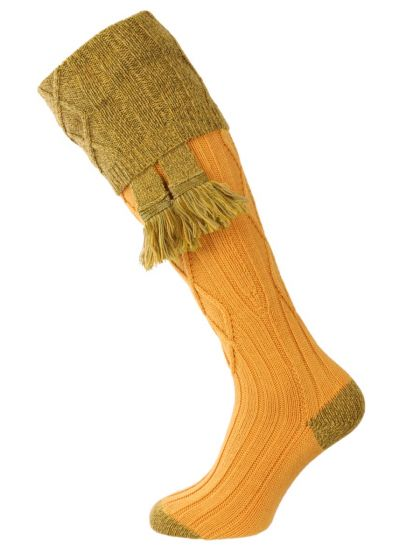 The Melbourne Shooting Sock - Gold
