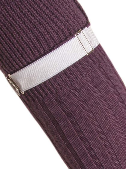 Elasticated, Fully Adjustable Sock Garter
