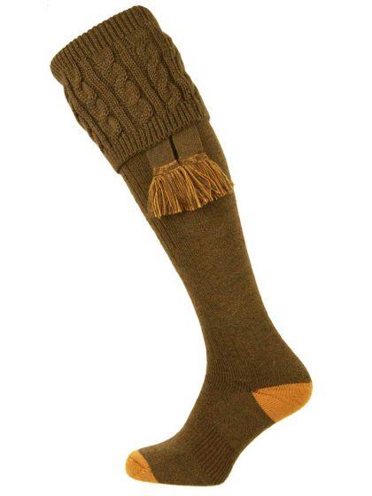The Sutherland Cushion Foot Shooting Sock
