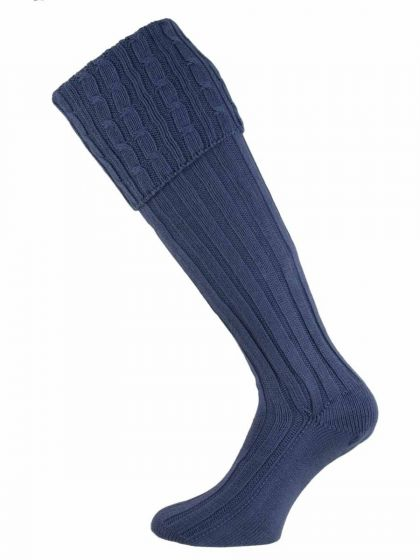 The Moreton Cotton Cable Shooting Sock