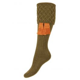 Lady Rannoch Shooting Socks /& Garters