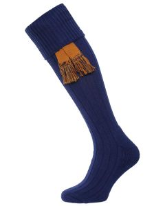 The Allensmore Cotton Cushion Foot Shooting Sock - Navy