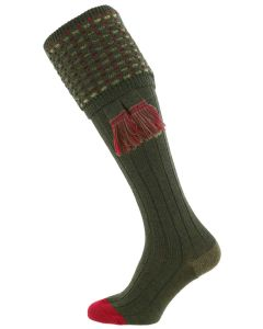 The Ambassador Merino Wool Shooting Sock - Hunter