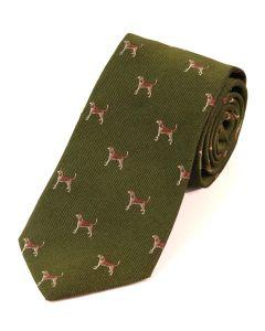 Atkinsons 'Beagle' Silk Tie