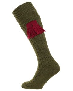 The Beater Shooting Sock - Greenacre