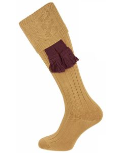 The Berrington 'Savanna' Cotton Cable Top Shooting Sock