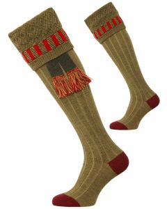 The Bristol Merino Wool Shooting Sock - Old Sage