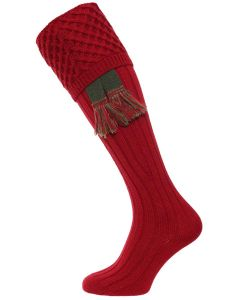 The Chelsea Shooting Sock - Deep Red