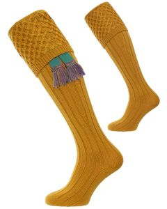 Pennine, Chelsea Shooting Sock, Sunflower