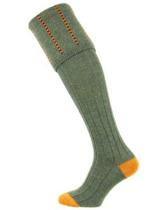 The Devonshire Lovat Wool Shooting Sock