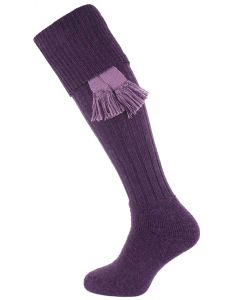 The Dinmore Cushion Foot Shooting Sock - Heather