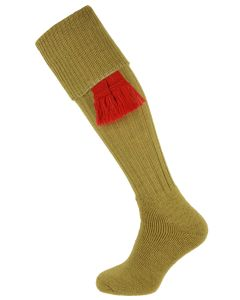 The Dinmore Sage Cushion Foot Shooting Sock