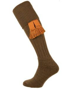 The Dinmore Greenacre Cushion Foot Shooting Sock