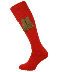 The Dinmore 'Ruby' Cushion Foot Shooting Sock