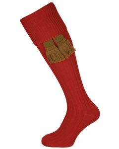The Dodmarsh 'Currant' Cotton Shooting Sock