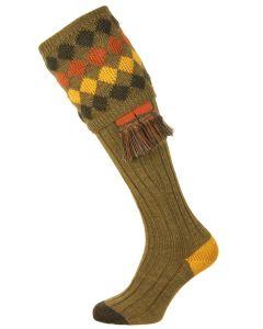 The Pennine Kendal Shooting Sock, Old Sage