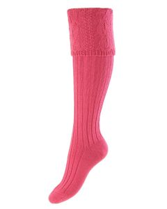 Dusky Pink, Lady Glenmore Shooting Sock