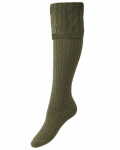 The Lady Glenmore Shooting Sock - Spruce