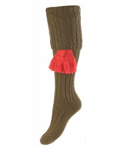Dark Olive, Lady Harris Shooting Sock