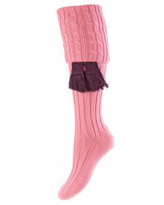 Rosewater Pink, Lady Harris Shooting Sock