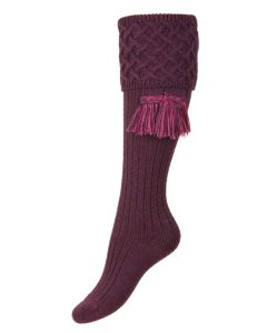 The Lady Rannoch Thistle Shooting Sock