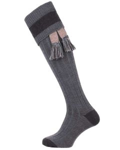 The Marlbrook 'XL Leg' Merino Shooting Sock