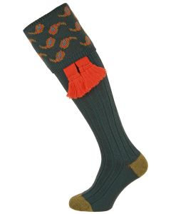 The Norfolk 'Indigo' Merino Wool Shooting Sock