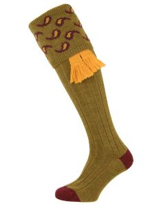 The Norfolk 'Old Sage' Merino Wool Shooting Sock