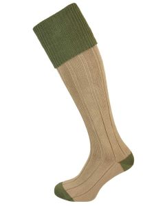 The Pembroke Moss Cotton Shooting Sock