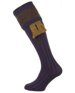 The Penrith 'Olive' Wool Shooting Sock