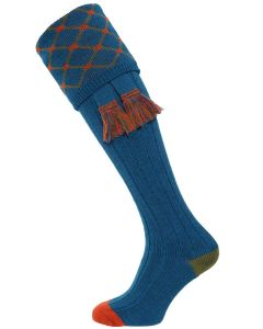 The Regent Merino Wool Shooting Sock - Hummingbird