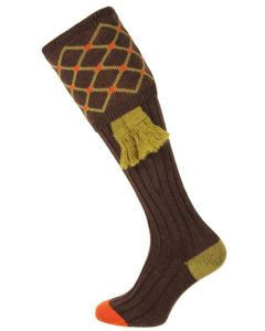 The Regent Shooting Sock, Mocha
