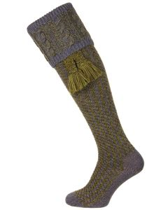 The Reiver Shooting Sock - Blue Lovat