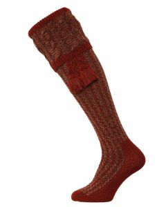 The Reiver Shooting Sock - Merlot
