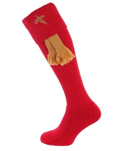 The Stalker Cushion Foot Shooting Sock - Rouge Pheasant